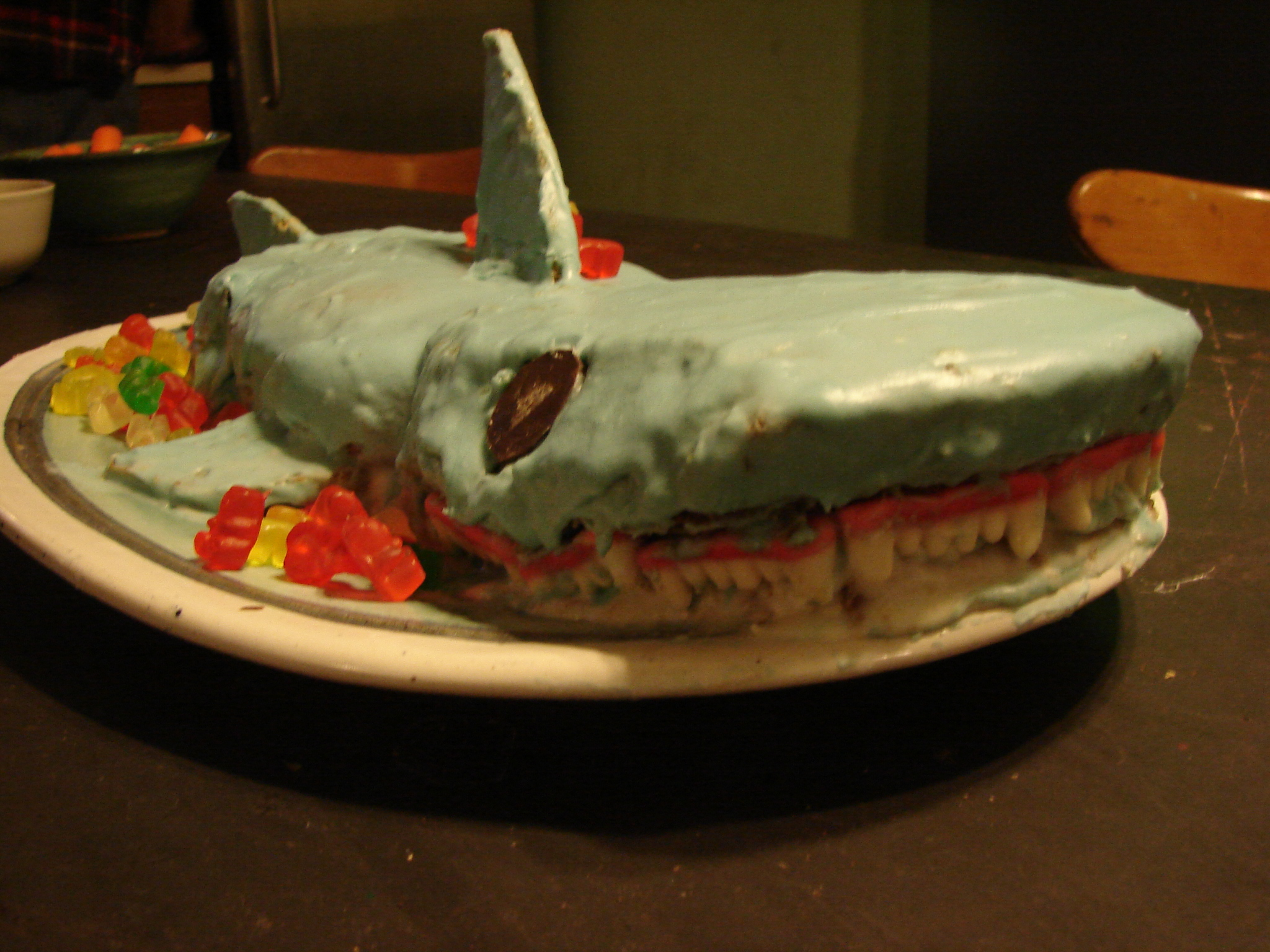 Shark Cake Aaaaaaghhhh Out Of The Ordinary