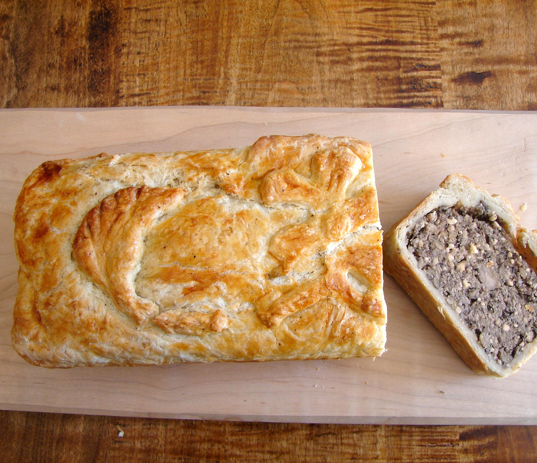 pat 233 en croute vegetarian style out of the ordinary