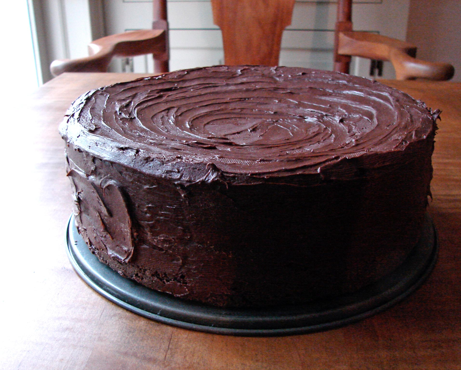 Nutella Cake Out Of The Ordinary