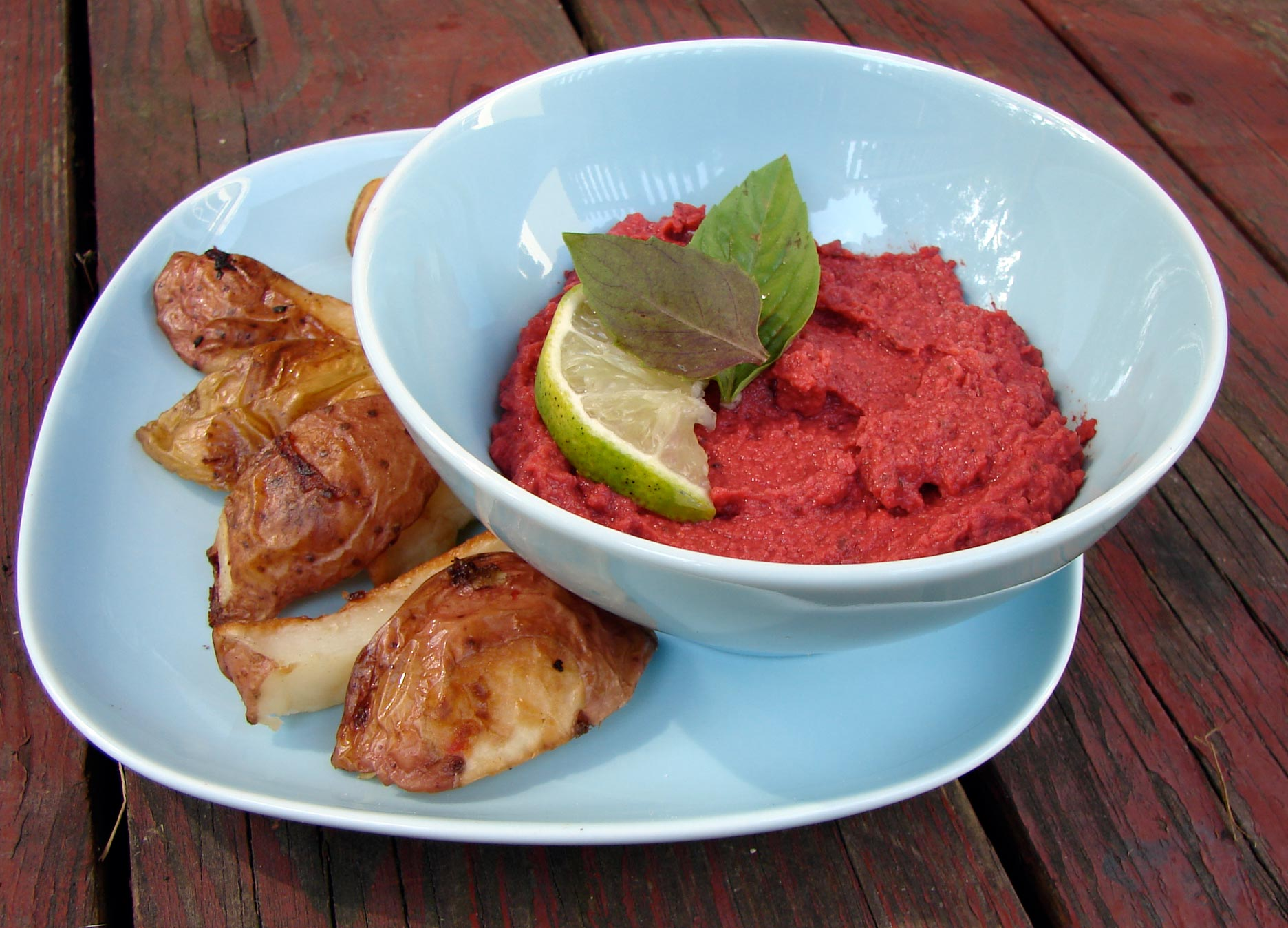 Beet Hummus Recipe — Dishmaps