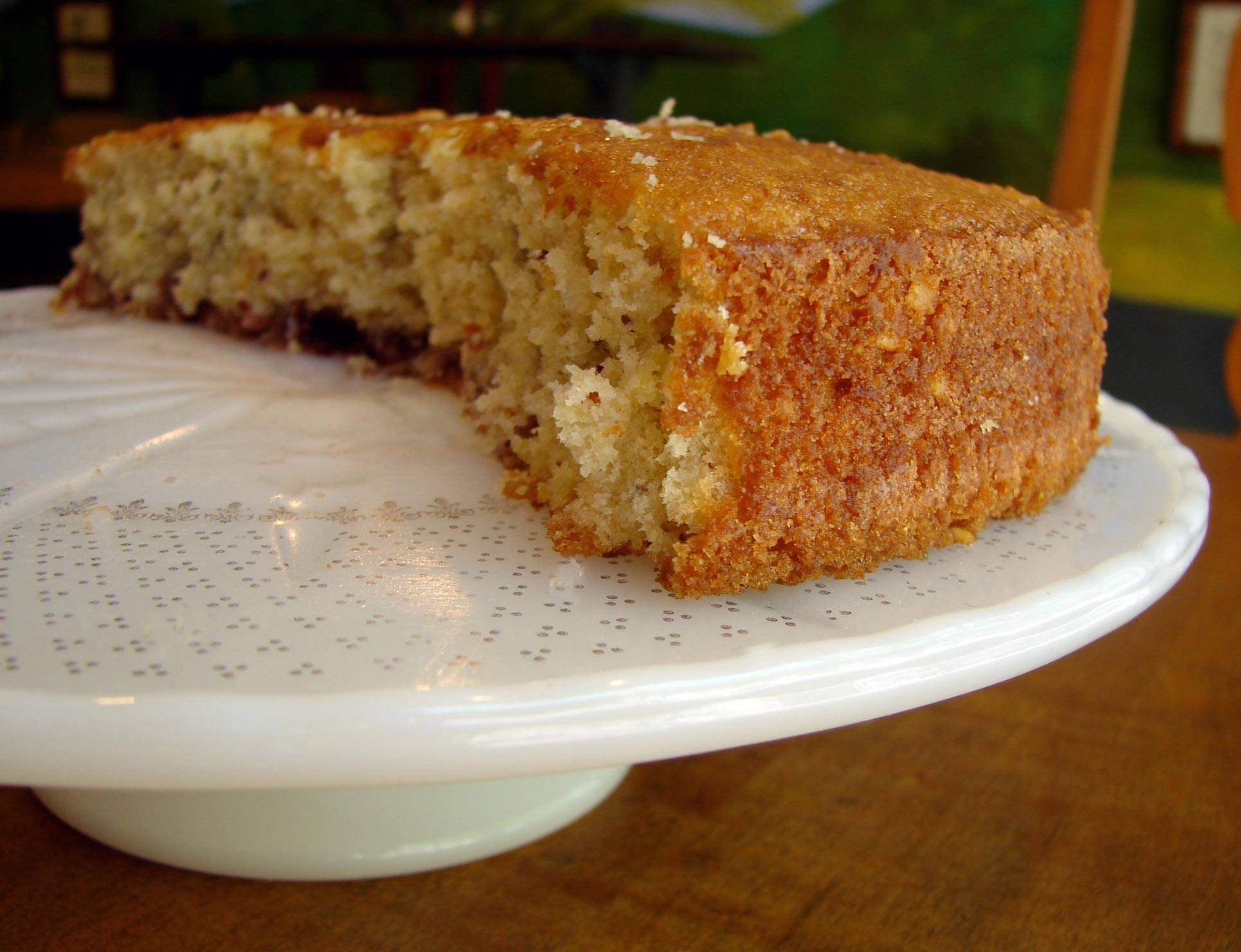 makes 14 slices cherry delicious almond cake based cherry coffeecake ...
