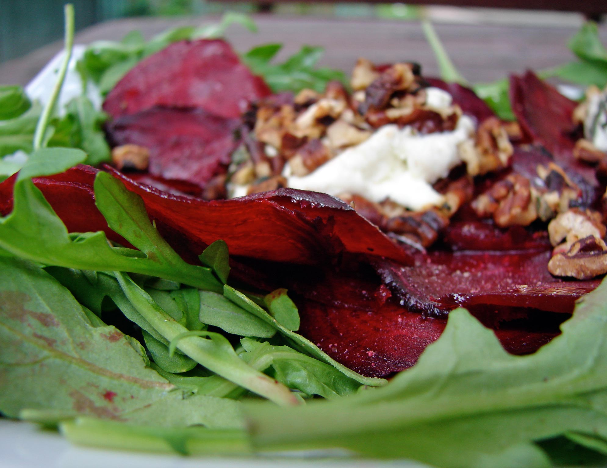 lentil salad with goat cheese beet carpaccio with goat cwc 5 cwc6 beet ...