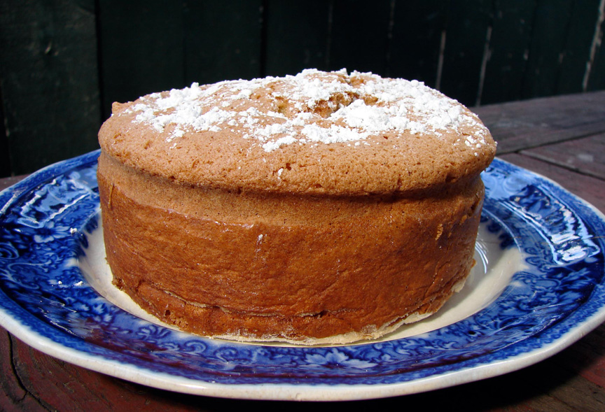 French cake a week – gateau de savoie | Out of the Ordinary