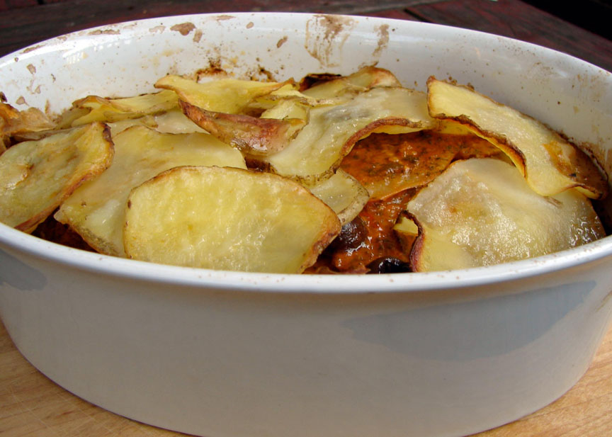 how to cook thin sliced potatoes