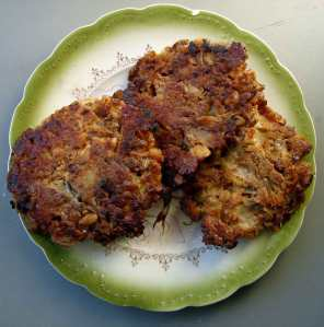 Fennel and walnut croquettes