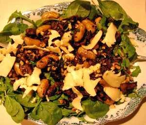 mushroom-potato-salad