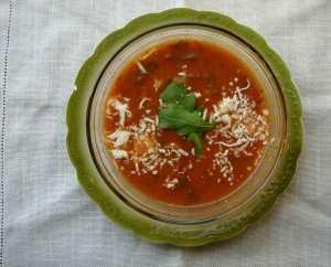 tomato-arugula-soup