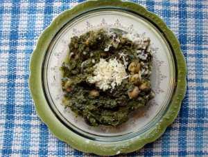Broccoli rabe pesto purée
