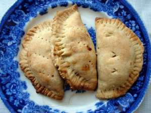 Potato and black bean empanadas