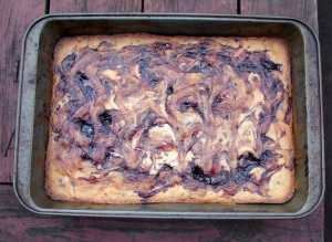 blackberry-blondies