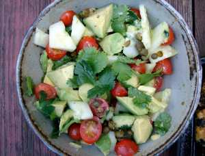avacado-cucumber-salad