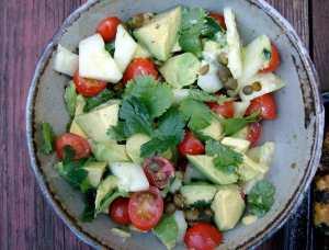 avacado-cucumber-salad
