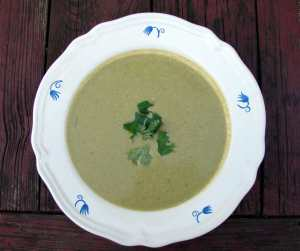 pumpkinseed vegetable soup