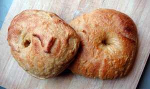 Honey tamari bagels