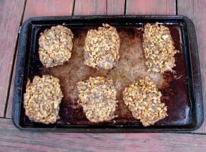 farro, turnip and mushroom croquettes