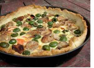 eggplant-olive-tart