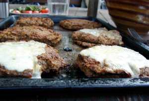 Leek and lentil burgers