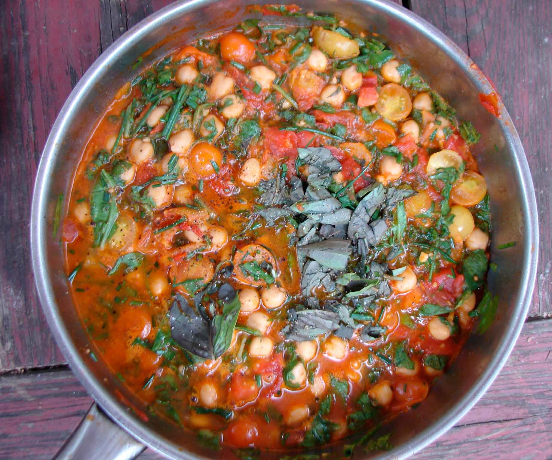 Spicy Chickpea Stew Recipe — Dishmaps
