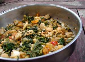 broccoli rabe and butterbeans