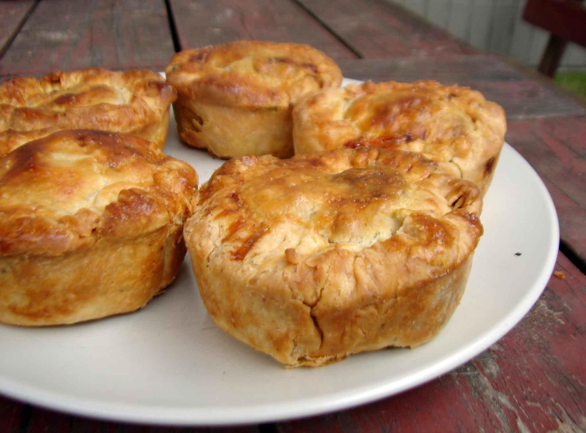 Top 28+ - Savory Pie Recipes - savory three mushroom kale ...