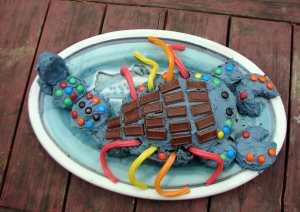 Scorpion cake!