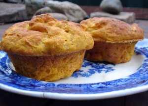 Yeasted pumpkin rosemary buns