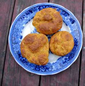 Pumpkin rosemary buns