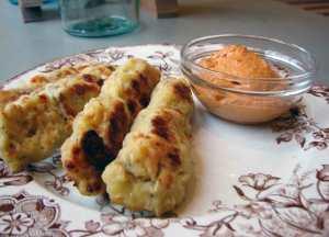 Semolina and artichoke croquettes