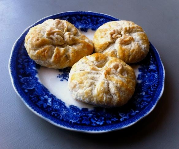 Butterbean and spinach dumplings