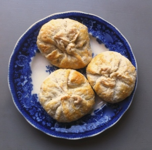 butterbean and greens dumplings