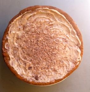 Flourless hazelnut walnut mocha torte
