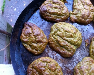 Kale, pistachio, and castelvetrano croquettes