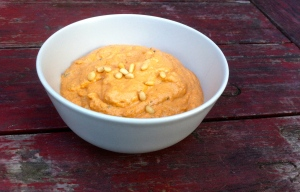 Pine nut and sundried tomato dip