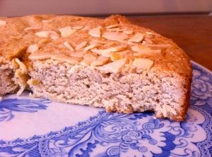 Cinnamon almond shortbread